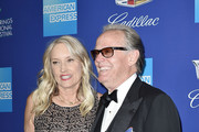 Margaret DeVogelaere and Peter Fonda attend the 29th Annual Palm Springs International Film Festival Film Awards Gala - Arrivals at Palm Springs Convention Center on January 2, 2018 in Palm Springs, California.