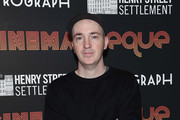 Artist KAWS attends the 2nd Annual CINEMAtheque party at Metrograph on May 9, 2018 in New York City.