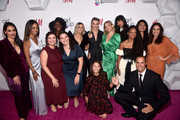 (L-R) Nikki Bella, Shaun Robinson, Girl Up Co-Executive Director Melissa Kilby, Chanice Lee, Yardena Gerwin, Julianne Hough, Cara Delevingne, Jasmine Ines Barker, Kate Hudson, Jameela Jamil, Monique Coleman, Rocio Ortega, Nigel Barker, and Girl Up Co-Executive Director Anna Blue attend the 2nd Annual Girl Up #GirlHero Awards at the Beverly Wilshire Four Seasons Hotel on October 13, 2019 in Beverly Hills, California.