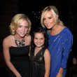 She sparkles with Brittany Snow and Bailee Madison.