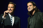 Michael W. Smith and Scott Stapp present the Artist of the Year Award at the 2nd Annual KLOVE Fan Awards at the Grand Ole Opry House  on June 1, 2014 in Nashville, Tennessee.