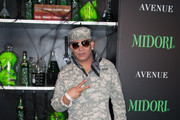 Musician Prince Malik attends 2nd Annual Midori Green Halloween Party at Avenue on October 27, 2012 in New York City.