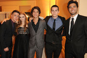 Actors Colton Haynes, Holland Roden, Tyler Posey, Dylan O'Brien, and Tyler Hoechlin attend the 2nd Annual Thirst Project Gala at The Beverly Hilton hotel on June 28, 2011 in Beverly Hills, California.