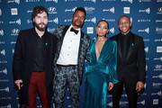 (L-R) John Patrick Amedori, Marque Richardson, Logan Browning, and DeRon Horton attend the 30th Annual GLAAD Media Awards Los Angeles at The Beverly Hilton Hotel on March 28, 2019 in Beverly Hills, California.