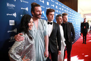 (L-R) Michelle Kwan, Jonathan Van Ness, Antoni Porowski, Tan France, and Bobby Berk attend the 30th Annual GLAAD Media Awards Los Angeles at The Beverly Hilton Hotel on March 28, 2019 in Beverly Hills, California.