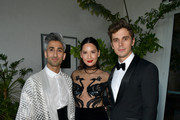 (L-R) Tan France, Olivia Munn, and Antoni Porowski attend the 30th Annual GLAAD Media Awards Los Angeles at The Beverly Hilton Hotel on March 28, 2019 in Beverly Hills, California.