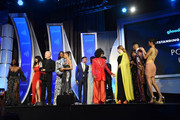 Ryan Murphy and the cast of Pose accept an award onstage during the 30th Annual GLAAD Media Awards New York at New York Hilton Midtown on May 04, 2019 in New York City.