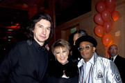 (L-R) Adam Driver, Lorna Luft, and Spike Lee attend the 30th Annual Palm Springs International Film Festival Film Awards Gala at Palm Springs Convention Center on January 3, 2019 in Palm Springs, California.