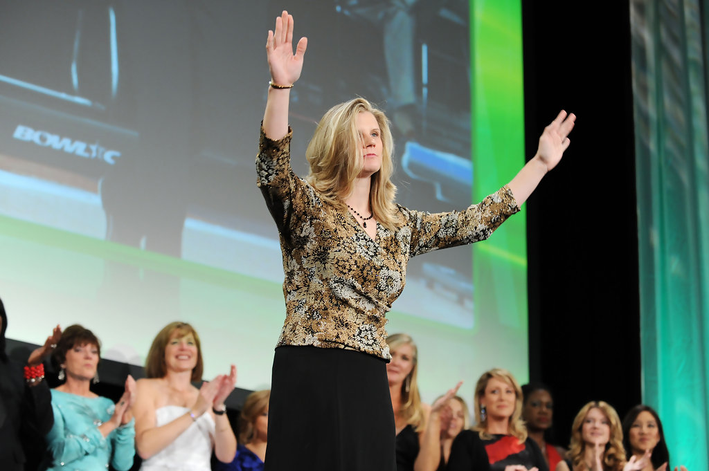 Kelly Kulick Annual Salute to Women in Sports 2011 New