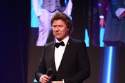 Richard Wilkins presents on stage during the 31st Annual ARIA Awards 2017 at The Star on November 28, 2017 in Sydney, Australia.