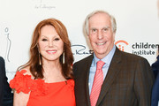Marlo Thomas and Henry Winkler attend 31st Annual Colleagues Luncheon at the Beverly Wilshire Four Seasons Hotel on April 09, 2019 in Beverly Hills, California.