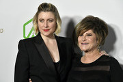(L-R) Greta Gerwig and Amy Pascal attend the 31st Annual Producers Guild Awards at Hollywood Palladium on January 18, 2020 in Los Angeles, California.