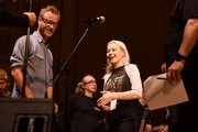 Matt Berninger and Phoebe Bridgers rehearse on stage during the 33nd Annual Tibet House US Benefit Concert & Gala on February 26, 2020 in New York City.