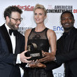 Charlize Theron and Seth Rogen Photos