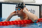 Pieter Timmers of Belgium in action in the Men's 100m Freestyle Semi Final during the 33rd LEN European Swimming Championships 2016 at Aquatics Centre on May 19, 2016 in London, England.