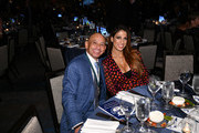 Cynthia Naanouh and Mike Smith attend the 33rd Annual Great Sports Legends Dinner, which raised millions of dollars for the Buoniconti Fund to Cure Paralysis at The New York Hilton Midtown on September 24, 2018 in New York City.