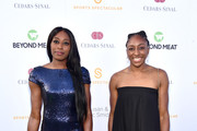 Chiney Ogwumike (L) and Nneka Ogwumike attend the 34th Annual Cedars-Sinai Sports Spectacular at The Compound on July 15, 2019 in Inglewood, California.