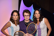 Billie Jean King Jessica Mendoza Photos Photo