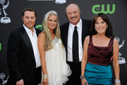 Jay McGraw, actress Erica Dahm, TV personality Phil McGraw and Robin McGraw attend the 36th Annual Daytime Emmy Awards at The Orpheum Theatre on August 30, 2009 in Los Angeles, California.  (Photo by Frazer Harrison/Getty Images