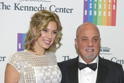 (AFP OUT)  Billy Joel and Alexis Roderick arrive at the formal Artist's Dinner honoring the recipients of the 2013 Kennedy Center Honors hosted by United States Secretary of State John F. Kerry at the U.S. Department of State on December 7, 2013 in Washington, D.C. The 2013 honorees are: opera singer Martina Arroyo, musician/composer Herbie Hancock, singer/songwriter Billy Joel, actress Shirley MacLaine, and musician/songwriter Carlos Santana.