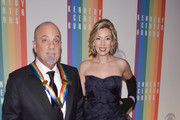 Billy Joel Alexis Roderick pose on the red carpet during the The 36th Kennedy Center Honors gala at the Kennedy Center on December 8, 2013 in Washington, DC.