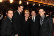 (L-R) Actors Deven May, Peter Saide, Bonnie Hunt, Travis Cloer and Jeff Leibow arrive at the 37th Annual Daytime Entertainment Emmy Awards held at the Las Vegas Hilton on June 27, 2010 in Las Vegas, Nevada.