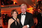 Volker Bouffier, Prime Minister of Hessen and his wife Ursula Bouffier during the German Sports Media Ball (38th Sportpresseball) at Alte Oper on November 9, 2019 in Frankfurt am Main, Germany.