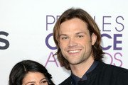 Actor Jared Padalecki and Genevieve Padalecki attend the 39th Annual People's Choice Awards at Nokia Theatre L.A. Live on January 9, 2013 in Los Angeles, California.