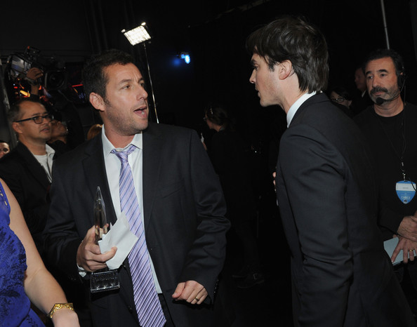 and Ian Somerhalder attend the 39th Annual People's Choice Awards