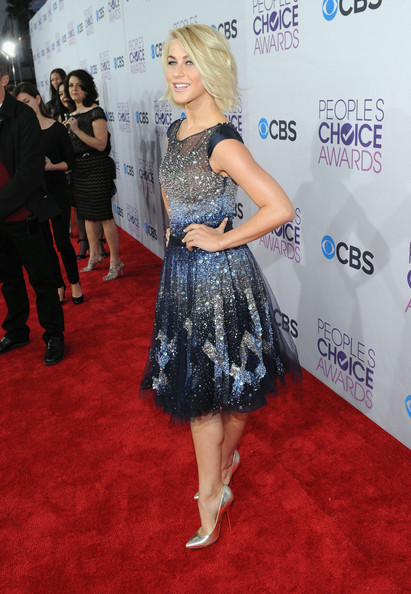 Actress Julianne Hough attends the 34th Annual People's Choice Awards at Nokia Theatre L.A. Live on January 9, 2013 in Los Angeles, California.
