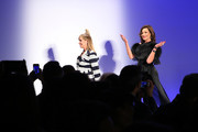 Sonja Morgan (L) and Luann de Lesseps walk the runway at the The 3rd Annual Blue Jacket Fashion Show Benefitting The Prostate Cancer Foundation at Pier 59 Studios on February 7, 2019 in New York City, NY.