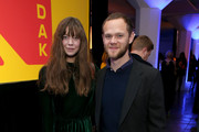 Analeigh Tipton and Joseph Cross attend the 3rd annual Kodak Awards at Hudson Loft on February 15, 2019 in Los Angeles, California.