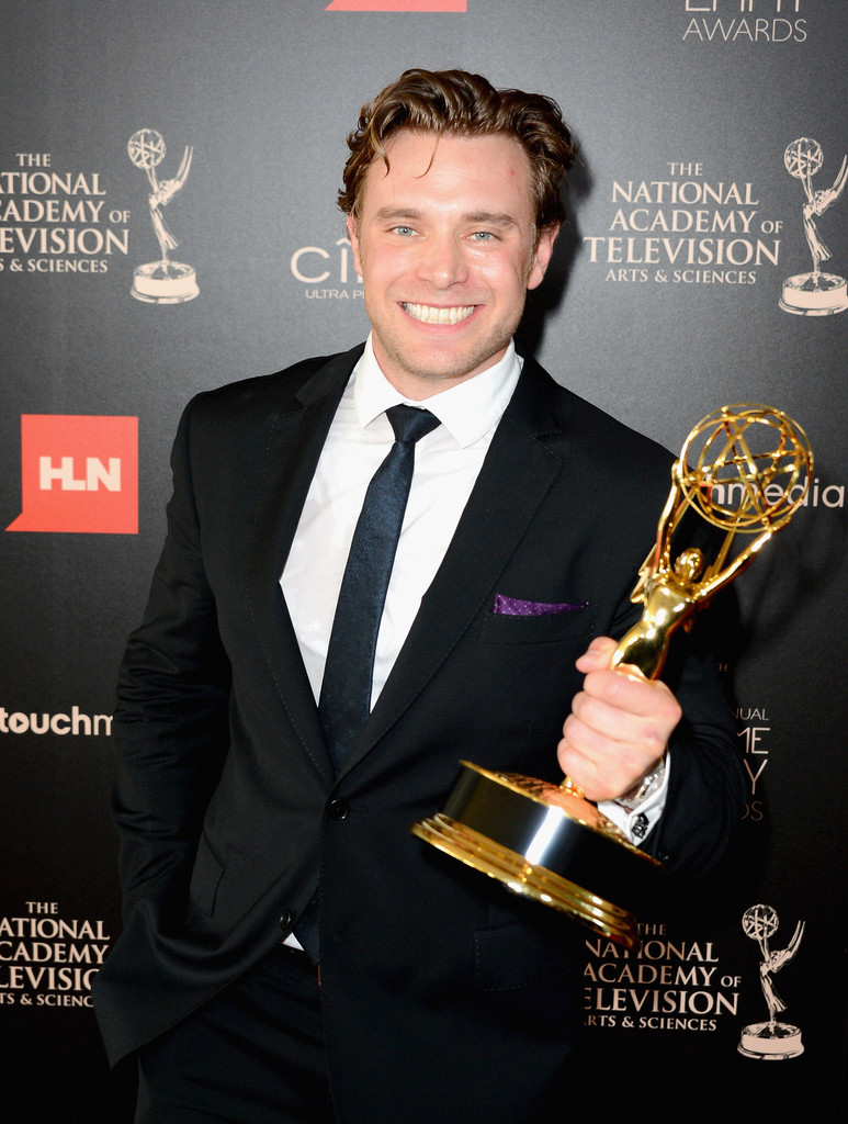 Press Room At The Z100 S Jingle Ball: Billy Miller In Press Room At The 40th Annual Daytime Emmy