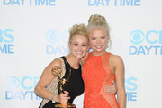 Actors Hunter King and Kelli Goss attend the 41st Annual Daytime Emmy Awards CBS after party at The Beverly Hilton Hotel on June 22, 2014 in Beverly Hills, California.