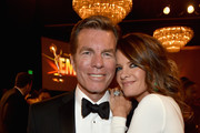 Actors Peter Bergman (L) and Michelle Stafford attend The 41st Annual Daytime Emmy Awards at The Beverly Hilton Hotel on June 22, 2014 in Beverly Hills, California.