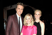 (L-R) Actress Kristen Bell, actor Dax Shepard and actress Monica Potter attend The 41st Annual People's Choice Awards at Nokia Theatre LA Live on January 7, 2015 in Los Angeles, California.