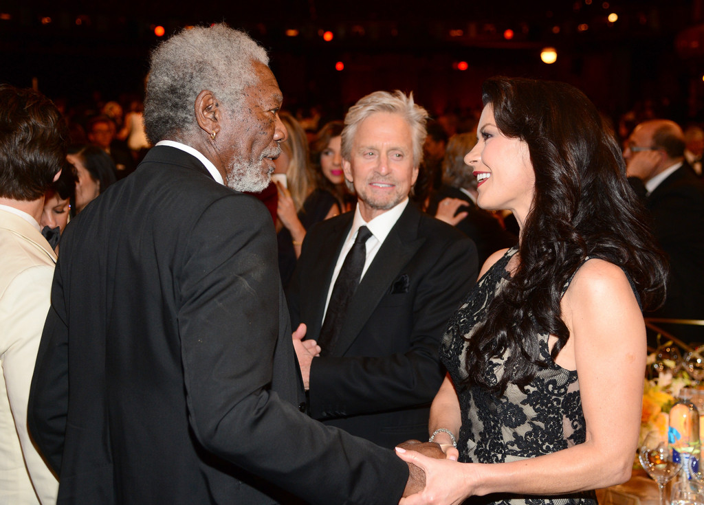 catherine freeman s life and achievements Rita moreno steals the  where she presented her onetime electric company co-star morgan freeman with the night's life achievement award—a.