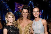 (L-R) Actresses .Kim Matula, Jacqueline MacInnes Wood and Ashleigh Brewer attend The 42nd Annual Daytime Emmy Awards at Warner Bros. Studios on April 26, 2015 in Burbank, California.