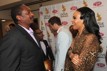 Matthew Knowles 42nd Annual GMA Dove Awards - Backstage