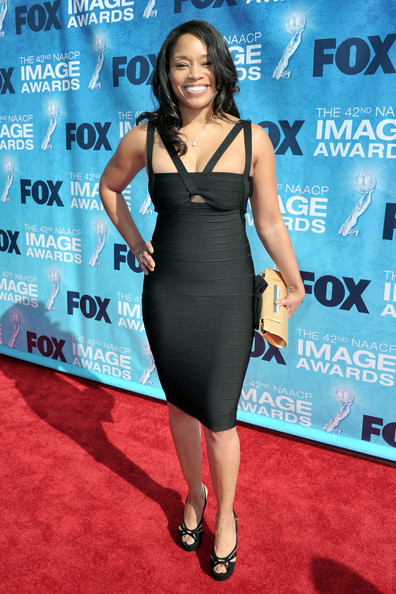 TV personality Connie Orlando arrives at the 42nd NAACP Image Awards held at The Shrine Auditorium on March 4, 2011 in Los Angeles, California.
