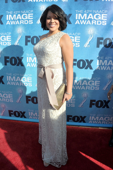 Actress Sara Ramirez arrives at the 42nd NAACP Image Awards held at The Shrine Auditorium on March 4, 2011 in Los Angeles, California.