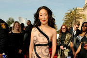 Actress Sandra Oh arrives at the 42nd NAACP Image Awards held at The Shrine Auditorium on March 4, 2011 in Los Angeles, California.