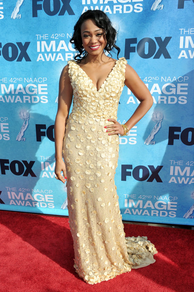 Actress Tatyana Ali  arrives at the 42nd NAACP Image Awards held at The Shrine Auditorium on March 4, 2011 in Los Angeles, California.