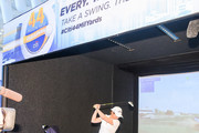 LPGA Golfer Lorena Ochoa attends the 44 Million Yard Challenge at the Presidents Cup Fan Experience, Oculus World Trade Center on September 27, 2017 in New York City.