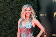 Actress Laura Wright attends the 45th Annual Daytime Creative Arts Emmy Awards at Pasadena Civic Auditorium on April 27, 2018 in Pasadena, California.