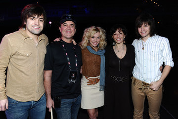 Scott Borchetta Kimberly Perry 46th Annual Academy Of Country Music Awards - ACM Fan Jam With Sugarland - Rehearsals