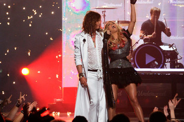 Steven Tyler Carrie Underwood 46th Annual Academy Of Country Music Awards - Show