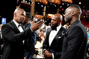 (L-R) Jamie Foxx, Antoine Fuqua, and Mahershala Ali attend the 47th AFI Life Achievement Award honoring Denzel Washington at Dolby Theatre on June 06, 2019 in Hollywood, California. (Photo by Erik Voake/Getty Images for WarnerMedia) 610530