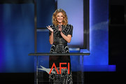 Julia Roberts speaks onstage during the 47th AFI Life Achievement Award honoring Denzel Washington at Dolby Theatre on June 06, 2019 in Hollywood, California. (Photo by Kevin Winter/Getty Images for WarnerMedia) 610265