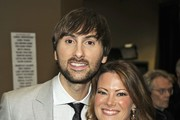 Musician Dave Haywood of the band Lady Antebellum and Kelli Cashiola pose backstage at the 47th Annual Academy Of Country Music Awards held at the MGM Grand Garden Arena on April 1, 2012 in Las Vegas, Nevada.